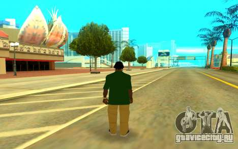 Grove Gang для GTA San Andreas второй скриншот