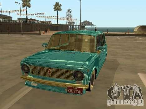 VAZ 2102 Cuban Style для GTA San Andreas вид слева