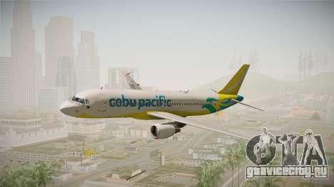 Airbus A320-214 - RP-C3242 (NC) Cebu Pacific для GTA San Andreas