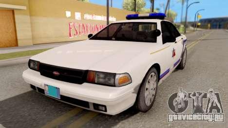 Vapid Stanier Hometown PD 2008 для GTA San Andreas