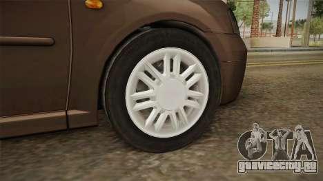 Renault Logan для GTA San Andreas вид сзади