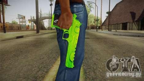 Green Weapon 1 для GTA San Andreas третий скриншот
