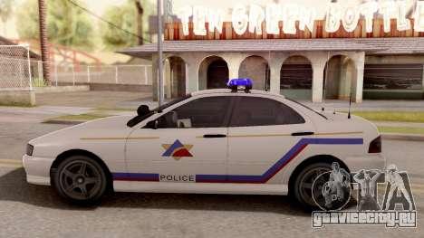 Dinka Chavos Hometown PD 2007 для GTA San Andreas вид слева
