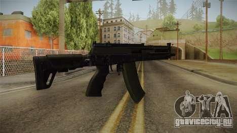 AK-12 BlackGreen для GTA San Andreas второй скриншот
