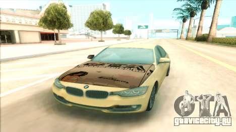BMW 435 2014 для GTA San Andreas вид справа