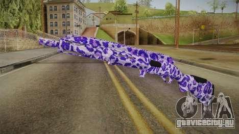 Tiger Violet Shotgun 1 для GTA San Andreas