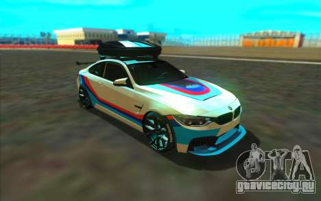 BMW M4 R для GTA San Andreas