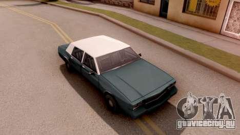Tahoma Limited Edition для GTA San Andreas вид справа