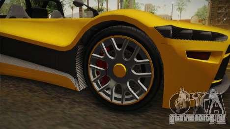 GTA 5 Hijak Ruston IVF для GTA San Andreas вид сзади