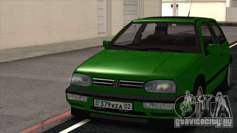 Volkswagen Golf Mk3 1997 для GTA San Andreas вид слева