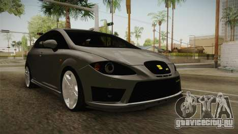 Seat Leon Cupra R для GTA San Andreas вид справа