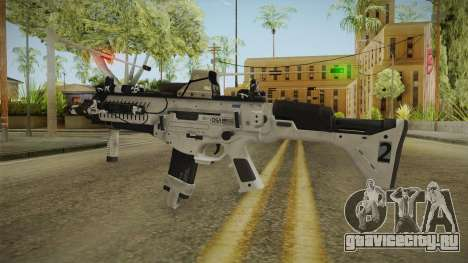 CoD: Ghosts - ARX-160 Holographic для GTA San Andreas второй скриншот