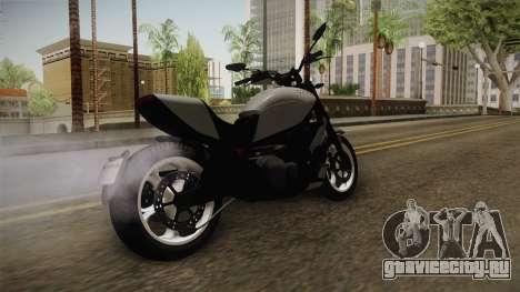 GTA 5 Principe Diabolus v1 для GTA San Andreas вид сзади слева