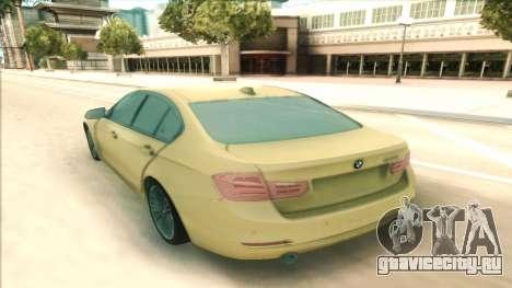BMW 435 2014 для GTA San Andreas вид сзади слева
