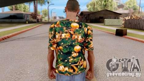 Рождественская футболка для GTA San Andreas третий скриншот