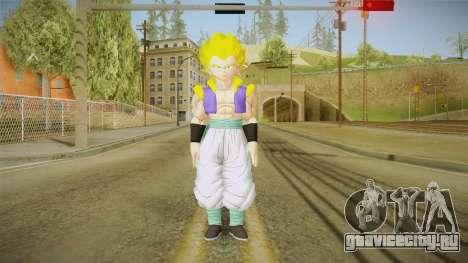 DBX2 - Gotenks SSJ для GTA San Andreas второй скриншот