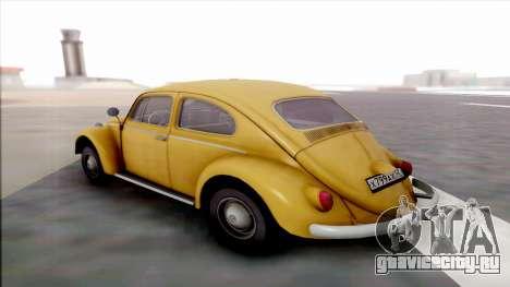 Volkswagen Juke для GTA San Andreas вид сзади слева