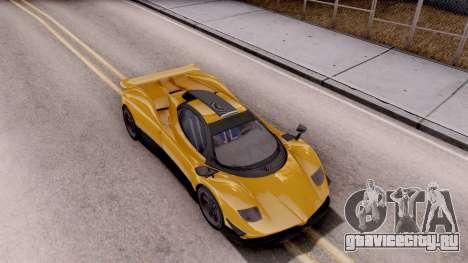 Modena Typhoon для GTA San Andreas вид справа