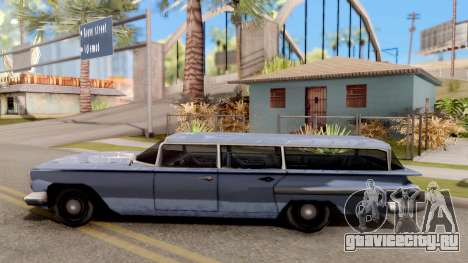 Voodoo Station Wagon для GTA San Andreas вид слева