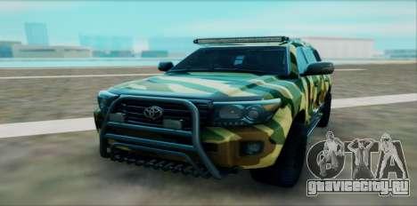 Toyota Land Cruiser 200 для GTA San Andreas вид справа