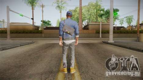 Watch Dogs 2 - Marcus v1.2 для GTA San Andreas третий скриншот