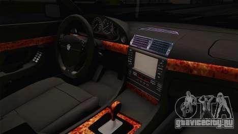 BMW 730i E38 Danker для GTA San Andreas вид изнутри