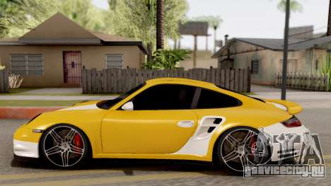 Porsche 911 Turbo 2007 для GTA San Andreas