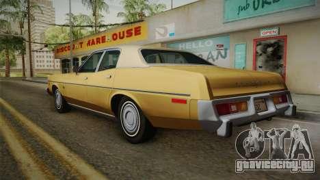 Plymouth Fury Salon (RL41) 1978 HQLM для GTA San Andreas вид слева