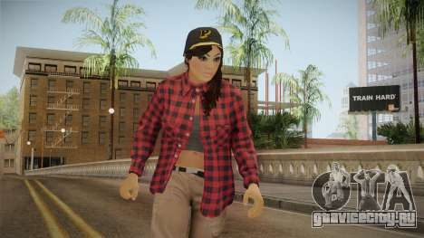 GTA 5 Vagos Chola Reskinned для GTA San Andreas