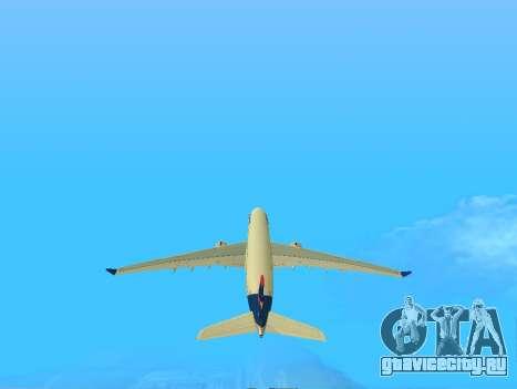 Airbus A330-200 LATAM Airlines для GTA San Andreas вид слева