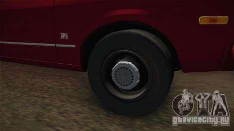 Dodge Aspen 1979 для GTA San Andreas вид сзади