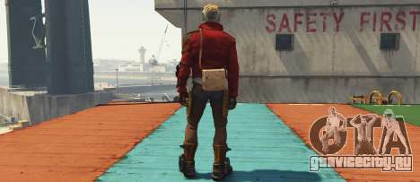 GOTG Star-lord для GTA 5 третий скриншот