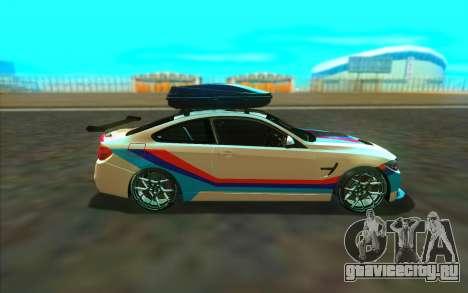 BMW M4 R для GTA San Andreas вид слева