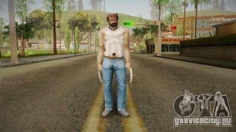 Logan Wolverine v1 для GTA San Andreas второй скриншот