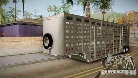 Double Trailer Livestock v1 для GTA San Andreas