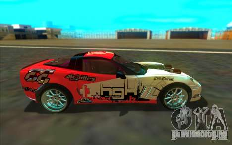 Chevrolet Corvette ZR1 для GTA San Andreas вид слева