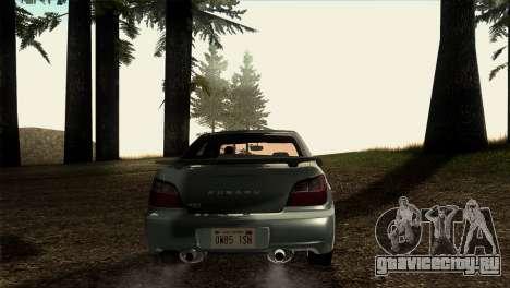 2001 Subaru Impreza WRX v 1.1 IVF [Tunable] для GTA San Andreas вид справа