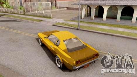 Driver PL Brooklyn для GTA San Andreas вид сзади