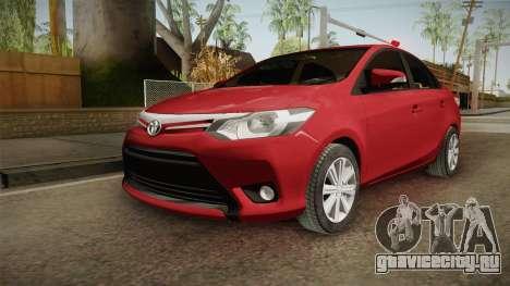 Toyota Yaris 2016 для GTA San Andreas
