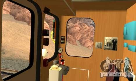 Метросостав типа Еж для GTA San Andreas вид сверху
