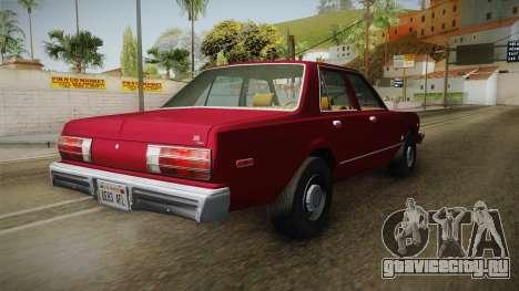 Dodge Aspen 1979 для GTA San Andreas вид сзади слева