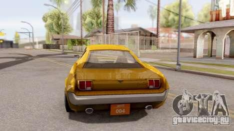 Driver PL Brooklyn для GTA San Andreas вид сзади слева