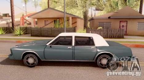 Tahoma Limited Edition для GTA San Andreas вид слева