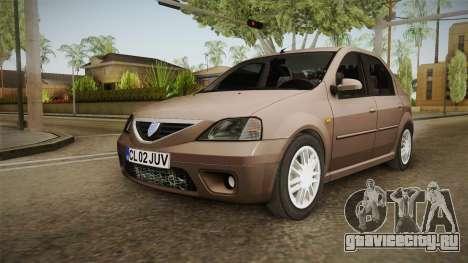 Renault Logan для GTA San Andreas