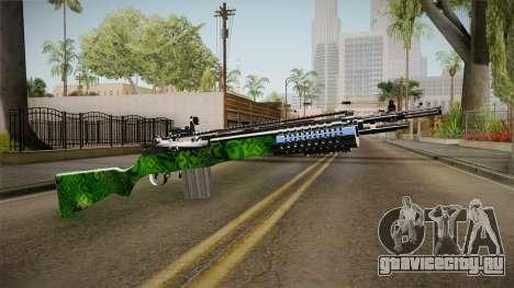 Green Rifle для GTA San Andreas второй скриншот