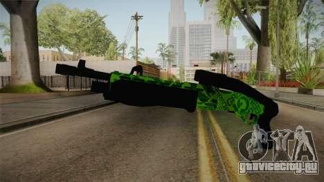 Green Spas-12 для GTA San Andreas второй скриншот