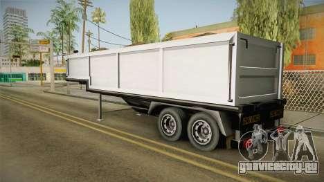 Volvo FH16 660 8x4 Convoy Heavy Weight Trailer 2 для GTA San Andreas вид слева