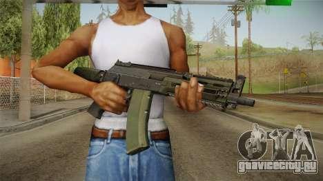 AK-12 BlackGreen для GTA San Andreas третий скриншот