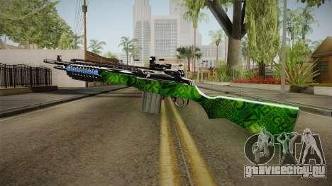 Green Rifle для GTA San Andreas третий скриншот