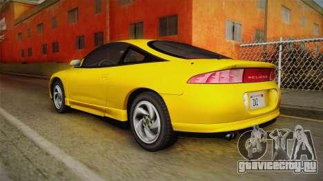 Mitsubishi Eclipse GSX 1995 HQLM для GTA San Andreas вид слева